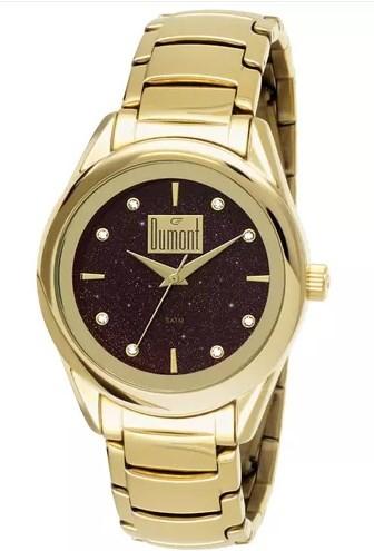 Relógio Dumont Feminino - DU2035LNA/4T  - Dumont Online - Joias e Relógios