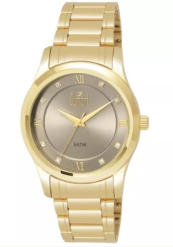 Relógio Dumont Feminino - DU2035LUX/4MT  - Dumont Online - Joias e Relógios