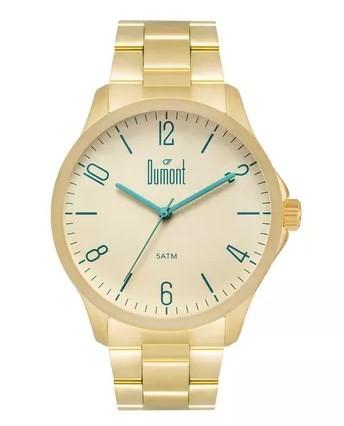 Relógio Dumont Masculino - DU2035LVU/4X  - Dumont Online - Joias e Relógios
