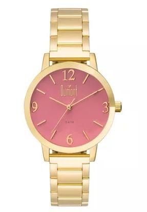 Relógio Dumont Feminino - DU2035LVZ/4T  - Dumont Online - Joias e Relógios