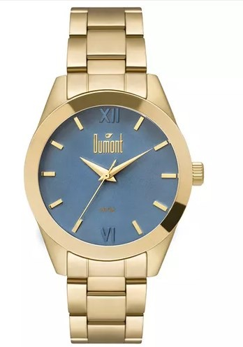 Relógio Dumont Feminino - DU2036LVD/4A  - Dumont Online - Joias e Relógios