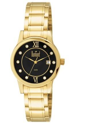 Relógio Dumont Feminino - DU2115AU/4P  - Dumont Online - Joias e Relógios