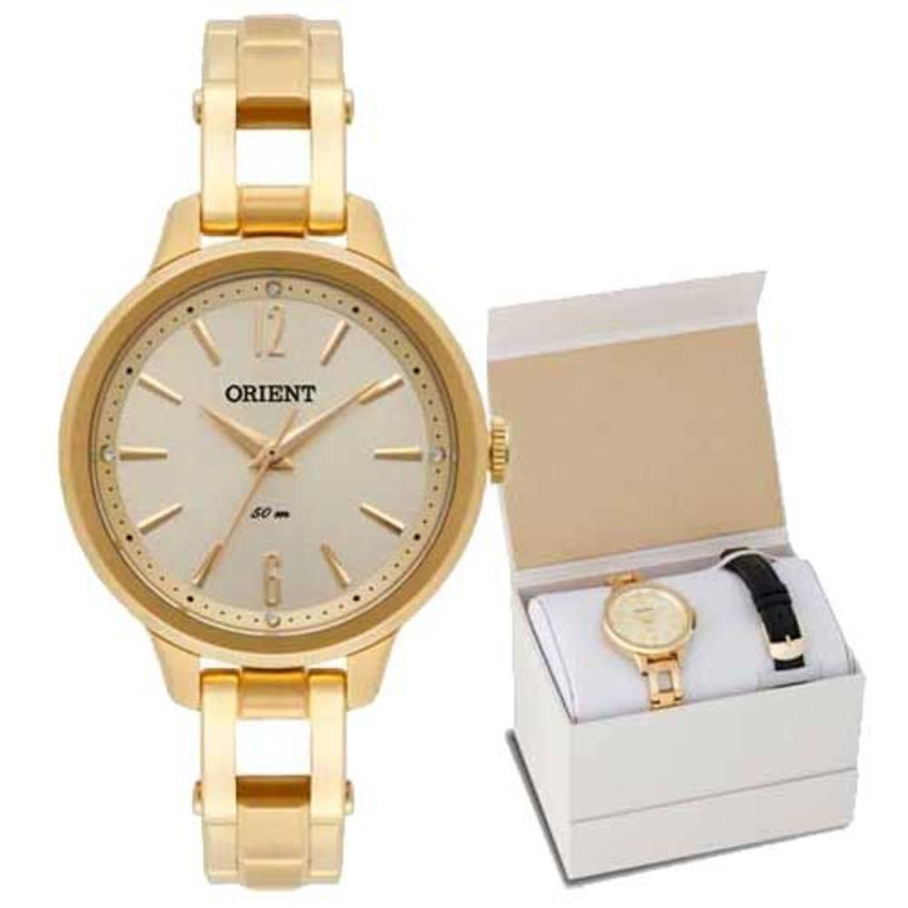 Relógio Orient Feminino - FGSS0064 C2KX  - Dumont Online - Joias e Relógios