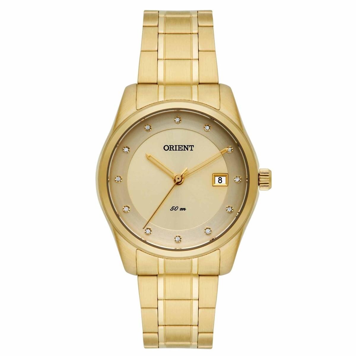 Relógio Orient Feminino - FGSS1114 C1KX  - Dumont Online - Joias e Relógios