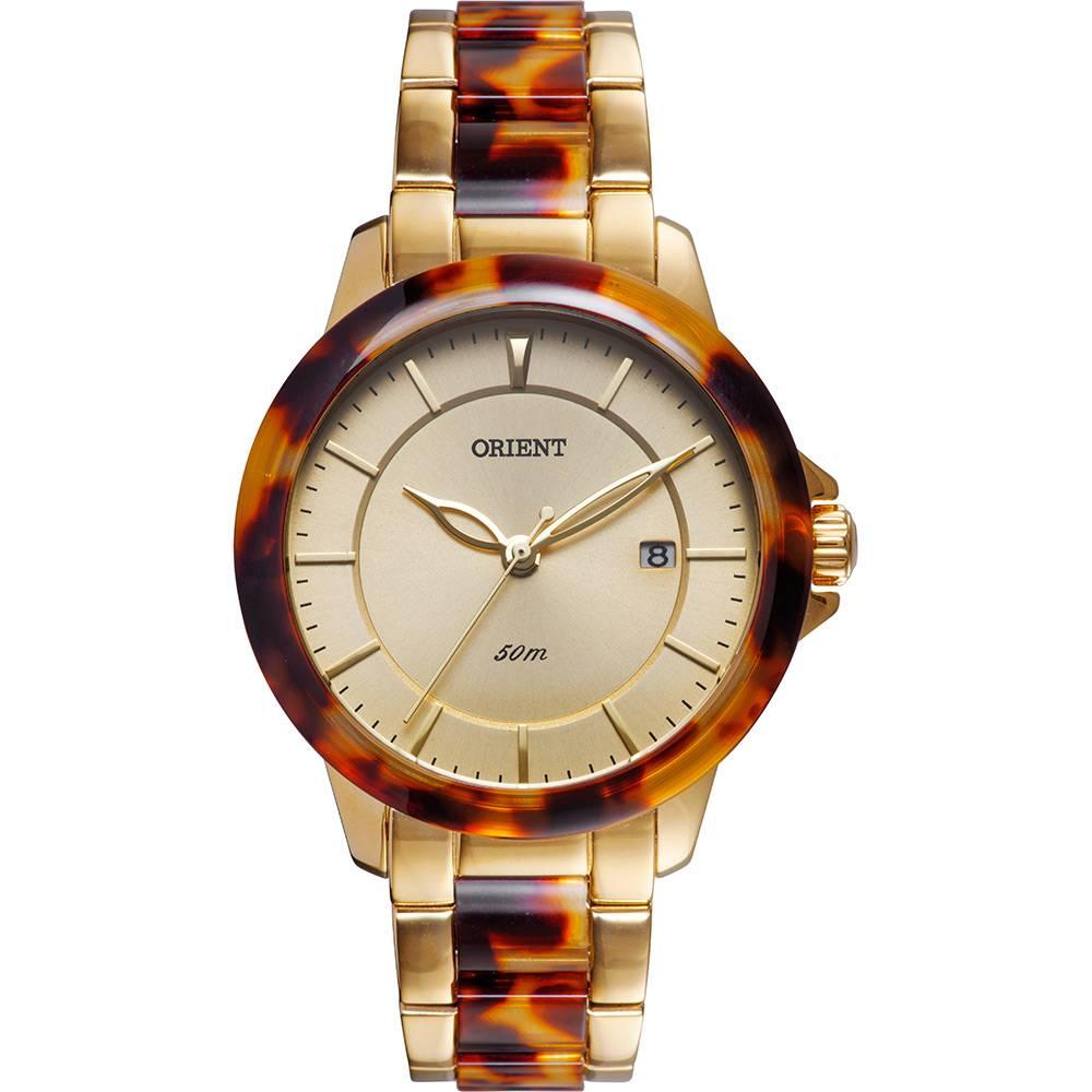 Relógio Orient Feminino - FTSS1084 C1KM  - Dumont Online - Joias e Relógios