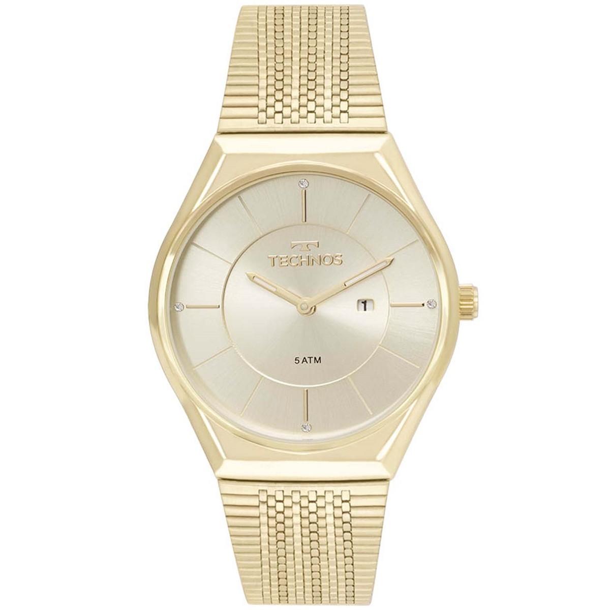 Relógio Technos Feminino - GL15AR/4X  - Dumont Online - Joias e Relógios