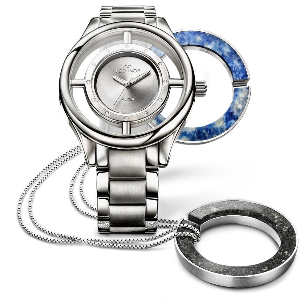 Relógio Technos Feminino - GL30FL/K1K  - Dumont Online - Joias e Relógios