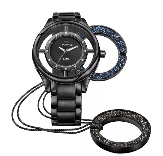 Relógio Technos Feminino - GL30FM/4P  - Dumont Online - Joias e Relógios