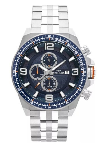 Relógio Technos Masculino - JS15FD/1A  - Dumont Online - Joias e Relógios