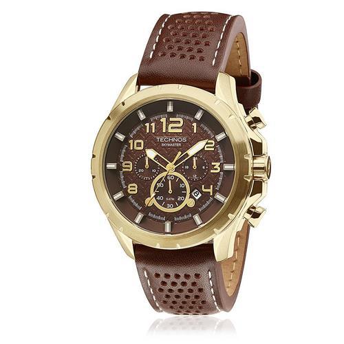 Relógio Masculino Technos Skymaster Analógico - JS25BG/0M  - Dumont Online - Joias e Relógios