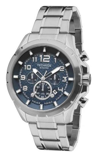 Relógio Technos Masculino Performance Skymaster - JS25BH/1A  - Dumont Online - Joias e Relógios