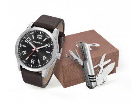 40b7cf56146 Kit Relógio Masculino Mondaine - 99071G0MVNH1K1 - Dumont Online - Joias e  Relógios
