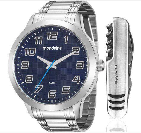 373aa54814c Kit Relógio Masculino Mondaine - 99143G0MVNE2K1 - Dumont Online - Joias e  Relógios