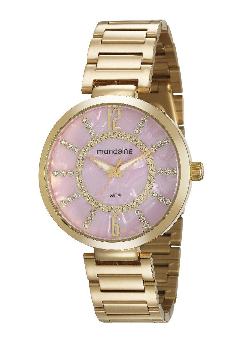 604ab28304c Kit Relógio Mondaine Feminino - 53617LPMKDE2K1 - Dumont Online - Joias e  Relógios