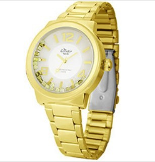 Relógio Condor Feminino - KW86709G  - Dumont Online - Joias e Relógios