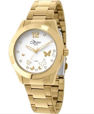 Relógio Condor Feminino - KX86075/4B  - Dumont Online - Joias e Relógios