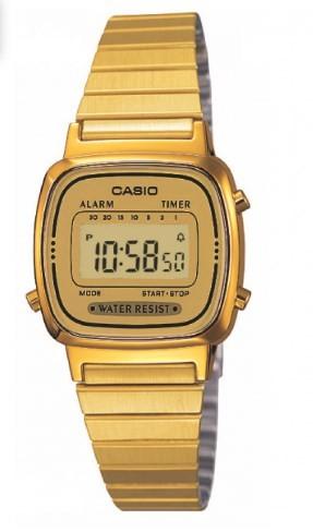 Relógio Casio Unissex - LA670WGA9DFU  - Dumont Online - Joias e Relógios