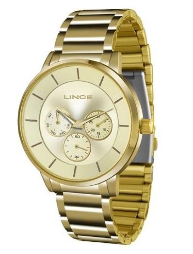 Relógio Lince Feminino - LMGJ054L C1KX  - Dumont Online - Joias e Relógios