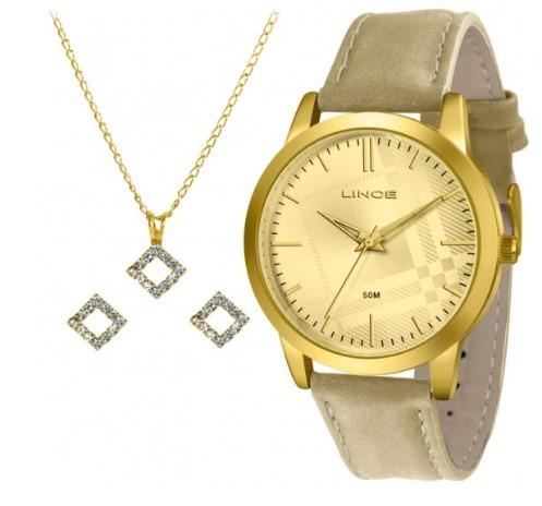 Relógio Lince Feminino - LRC4397L C1TX  - Dumont Online - Joias e Relógios