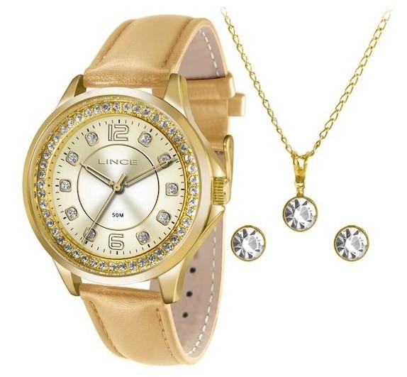 Relógio Lince Feminino - LRC4398L C2MX  - Dumont Online - Joias e Relógios