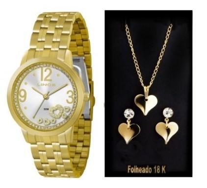 Relógio Lince Feminino - LRG4254L S2KX  - Dumont Online - Joias e Relógios