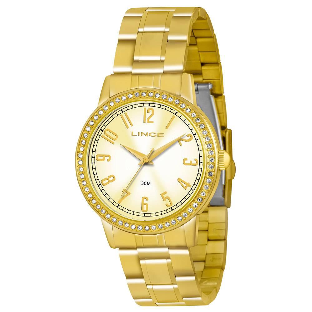Relógio Lince Feminino - LRG4258L C2KX  - Dumont Online - Joias e Relógios