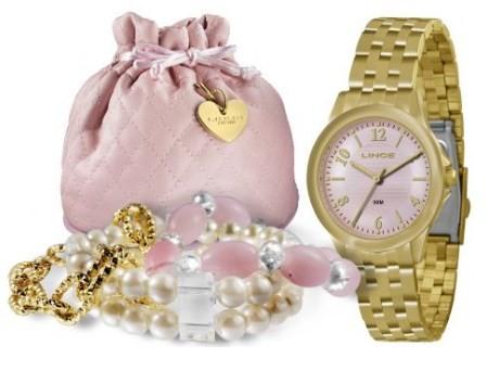 Relógio Lince Feminino - LRG4296L K096R2KX  - Dumont Online - Joias e Relógios