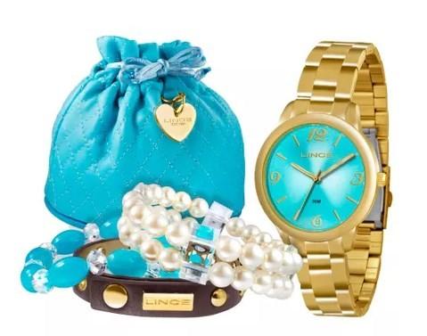 Relógio Lince Feminino - LRG4297L K097A2KX  - Dumont Online - Joias e Relógios