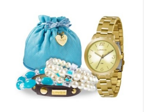 Relógio Lince Feminino - LRG4297L K098 C2KX  - Dumont Online - Joias e Relógios