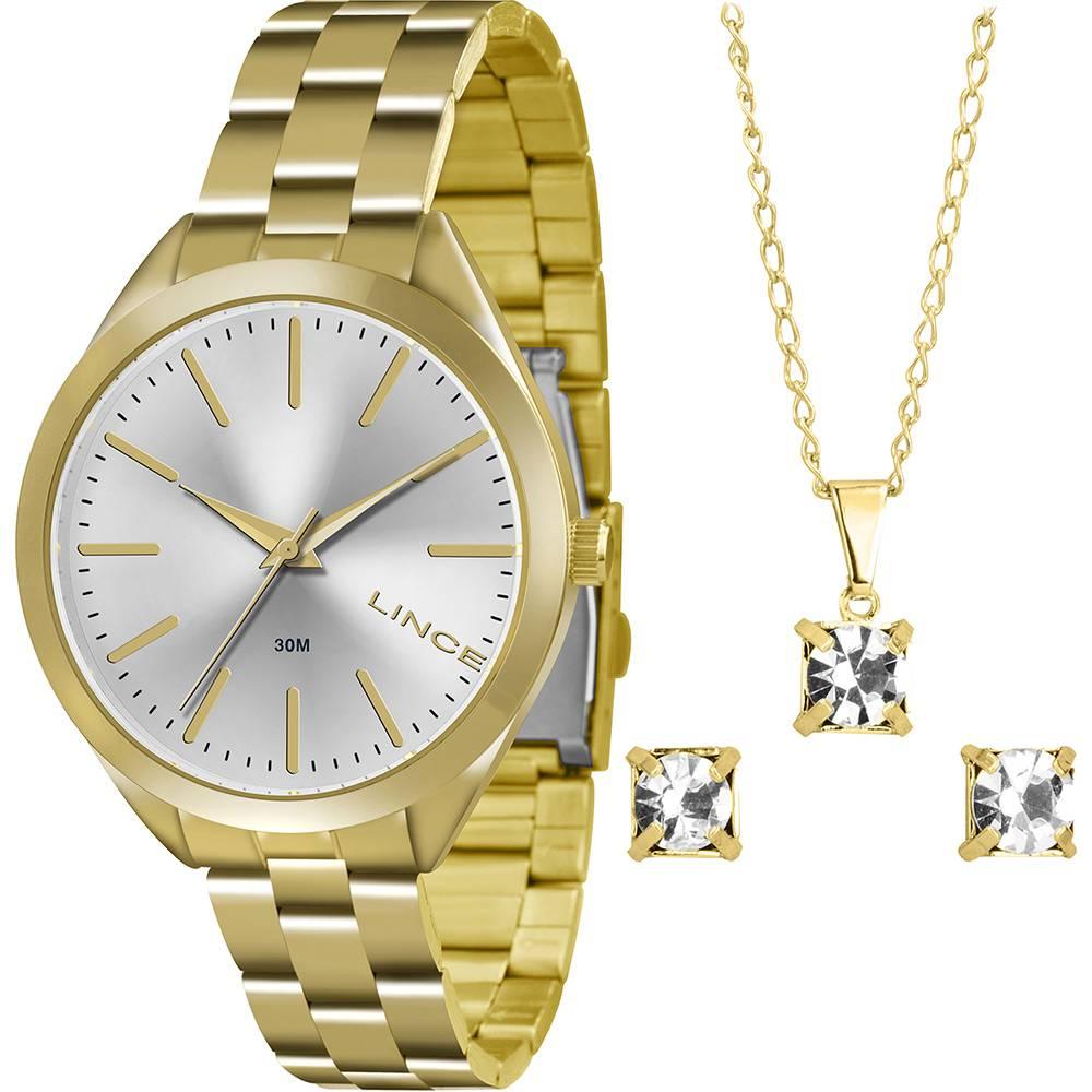 Relógio Lince Feminino - LRG4329L S1KX  - Dumont Online - Joias e Relógios