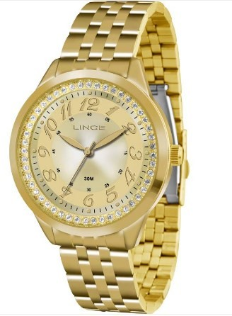 Relógio Lince Feminino - LRG4330L C2KX  - Dumont Online - Joias e Relógios