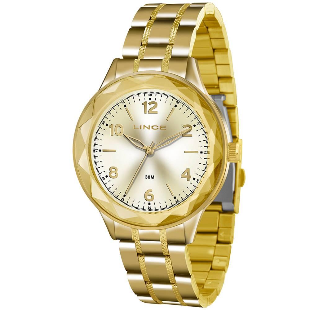 Relógio Lince Feminino - LRG4344L C2KX  - Dumont Online - Joias e Relógios
