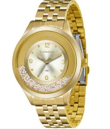 Relógio Lince Feminino - LRG4348L C2KX  - Dumont Online - Joias e Relógios