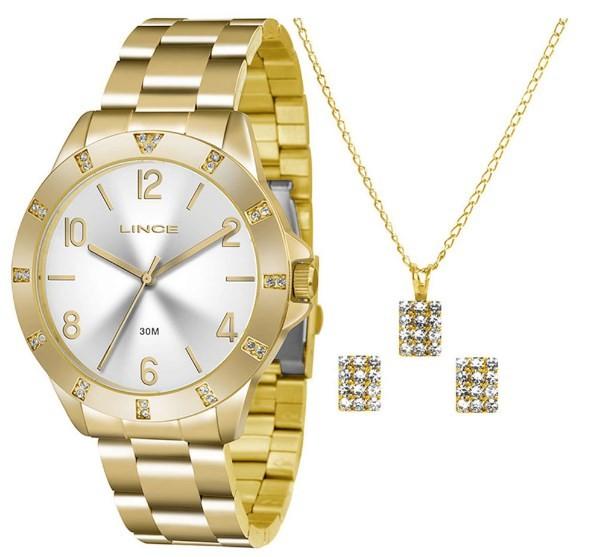 Relógio Lince Feminino - LRG4367L S2KX  - Dumont Online - Joias e Relógios