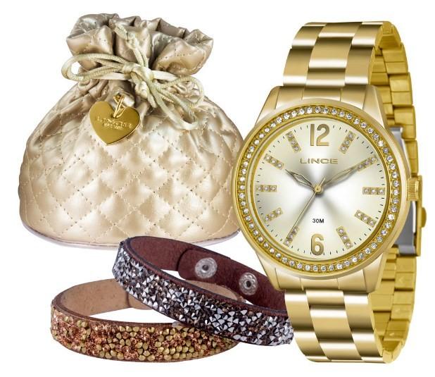 Relógio Lince Feminino - LRG4371L  C2KX  - Dumont Online - Joias e Relógios