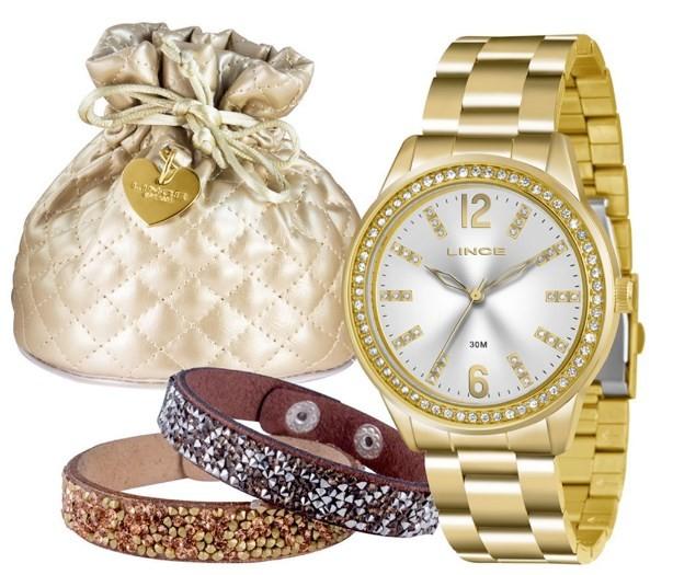 Relógio Lince Feminino - LRG4371L S2KX  - Dumont Online - Joias e Relógios