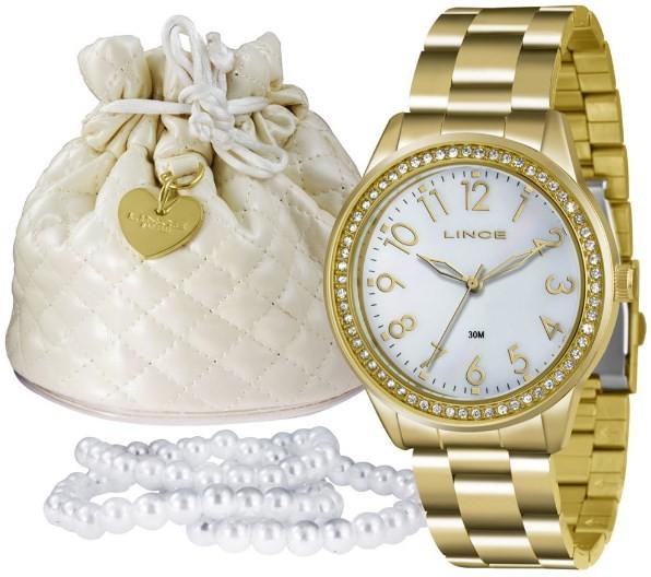 Relógio Lince Feminino - LRG4375L B2KX  - Dumont Online - Joias e Relógios