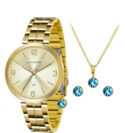 Relógio Lince Feminino - LRG4458L  - Dumont Online - Joias e Relógios