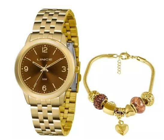 Relógio Lince Feminino - LRG4505L N2KX  - Dumont Online - Joias e Relógios