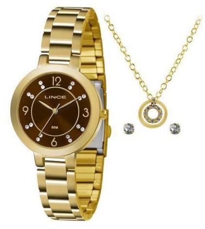 Relógio Lince Feminino - LRG4516L M2KX  - Dumont Online - Joias e Relógios
