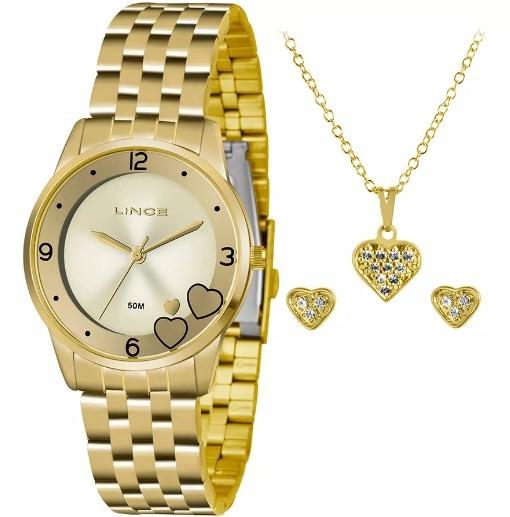 Relógio Lince Feminino - LRG4517L C2KX  - Dumont Online - Joias e Relógios