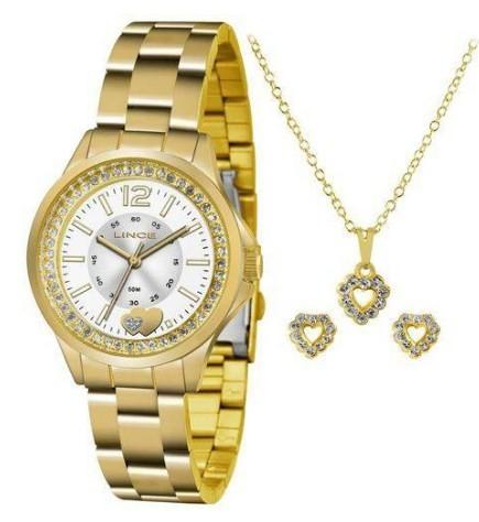Relógio Lince Feminino - LRG4518L S2KX  - Dumont Online - Joias e Relógios