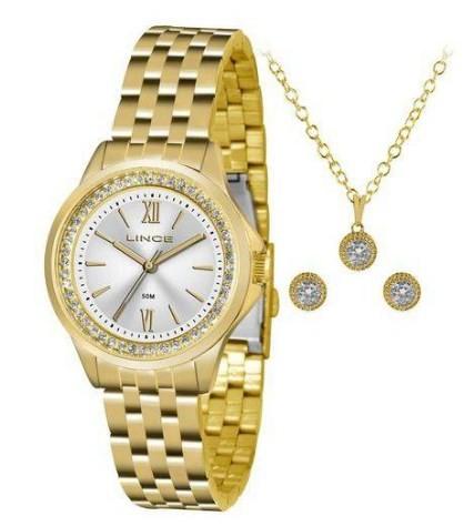 Relógio Lince Feminino - LRG4519L S3KX  - Dumont Online - Joias e Relógios