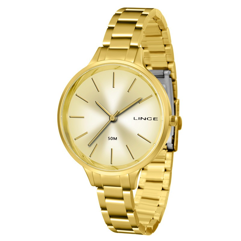 Relógio Lince Feminino - LRGH045L  - Dumont Online - Joias e Relógios