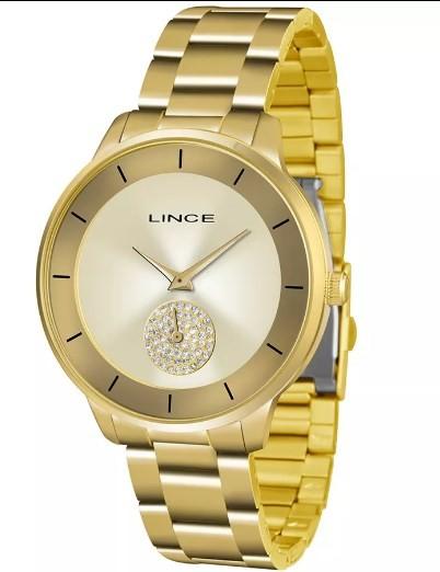 Relógio Lince Feminino - LRGH067L C1KX  - Dumont Online - Joias e Relógios