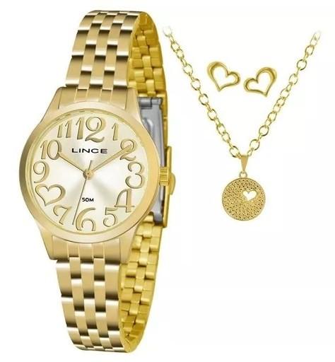 Relógio Lince Feminino - LRGH071L C2KX  - Dumont Online - Joias e Relógios