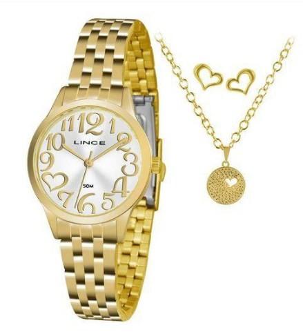 Relógio Lince Feminino - LRGH071L S2KX  - Dumont Online - Joias e Relógios