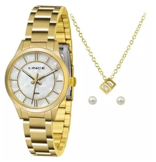 Relógio Lince Feminino - LRGH072L B1KX  - Dumont Online - Joias e Relógios