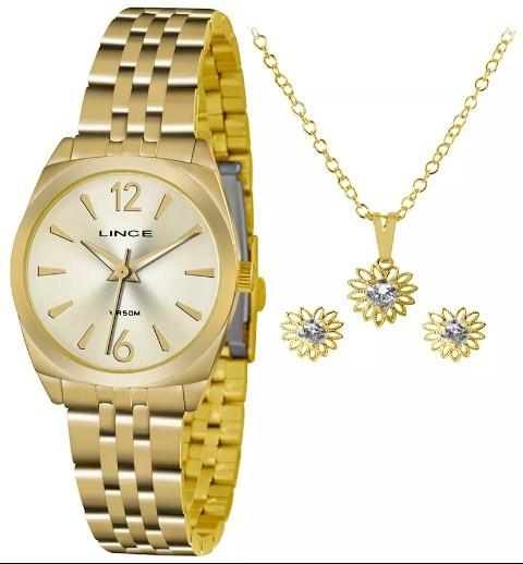 Relógio Lince Feminino - LRGH073L 2KX  - Dumont Online - Joias e Relógios