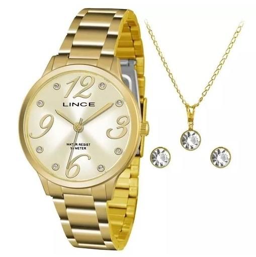 Relógio Lince Feminino - LRGH074L C2KX  - Dumont Online - Joias e Relógios